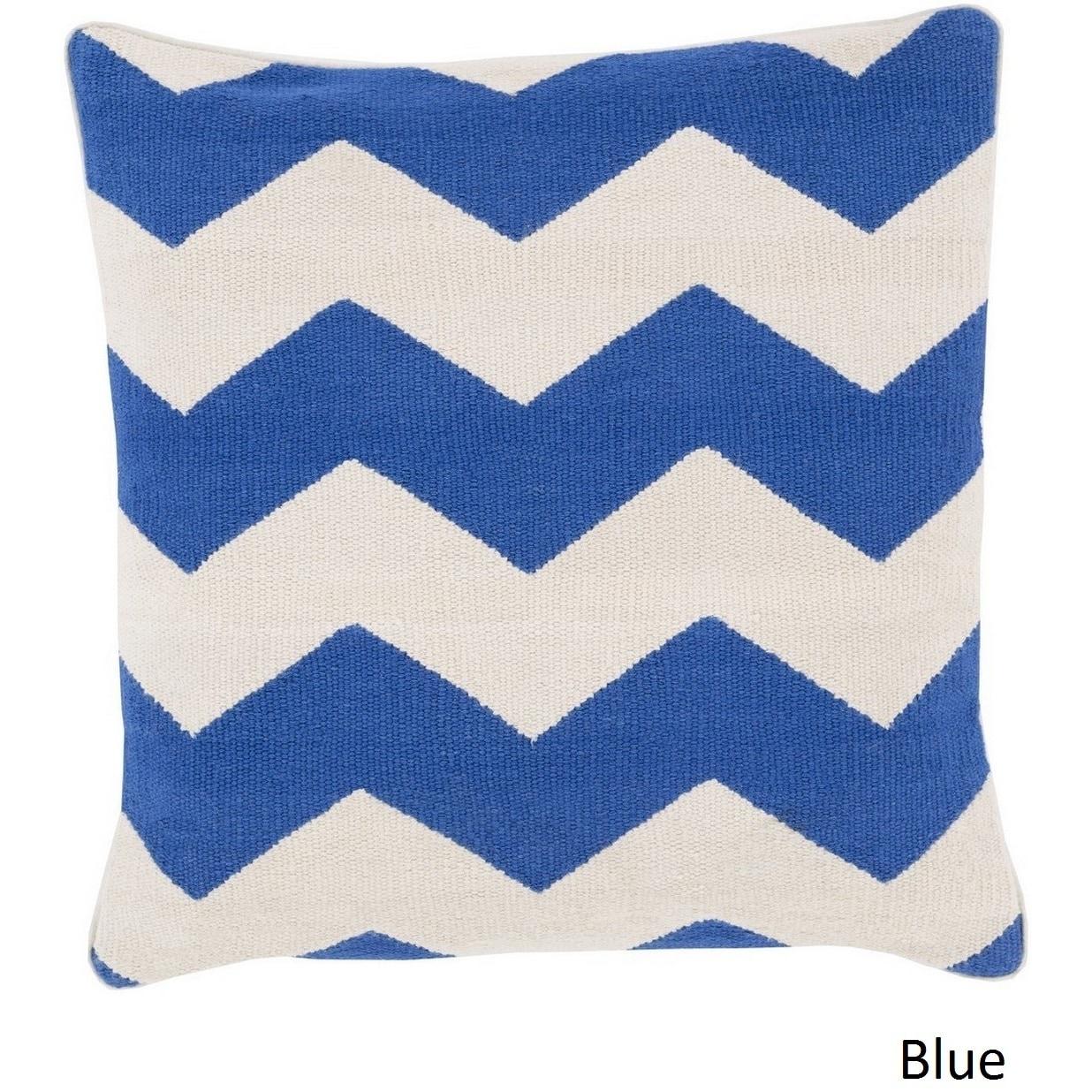 Decorative Rochdale 20-inch Chevron Pillow Cover | eBay