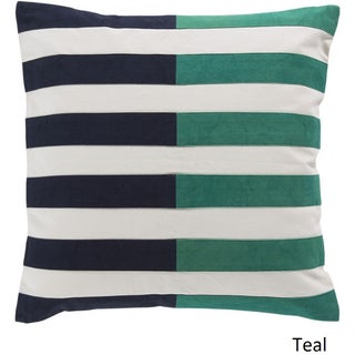 Decorative Petworth 22-inch Check Pillow Cover