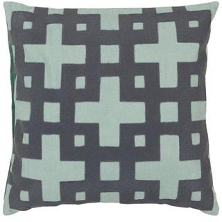 Jones 22-inch Decorative Geometric Pillow Cover