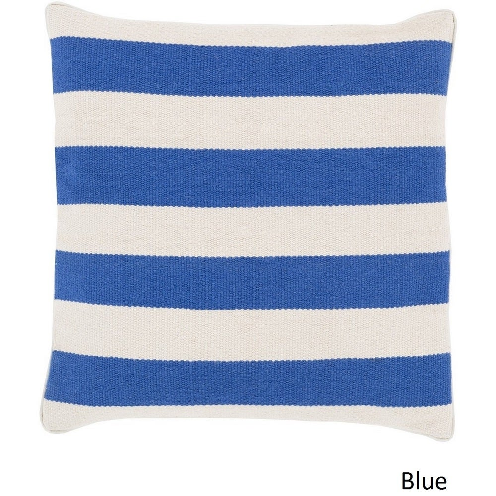 Shop Decorative Redditch 20-inch Stripe Pillow Cover - Overstock - 10708269