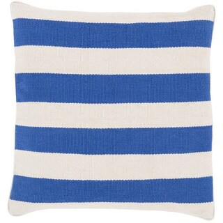 Decorative Redditch 20-inch Stripe Pillow Cover