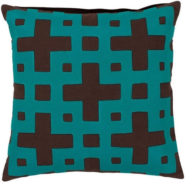 Jones 20-inch Decorative Geometric Pillow Cover