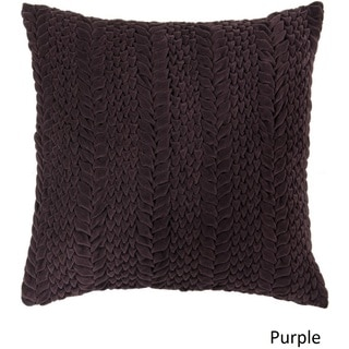 Decorative Solihull 18-inch Textured Pillow Cover