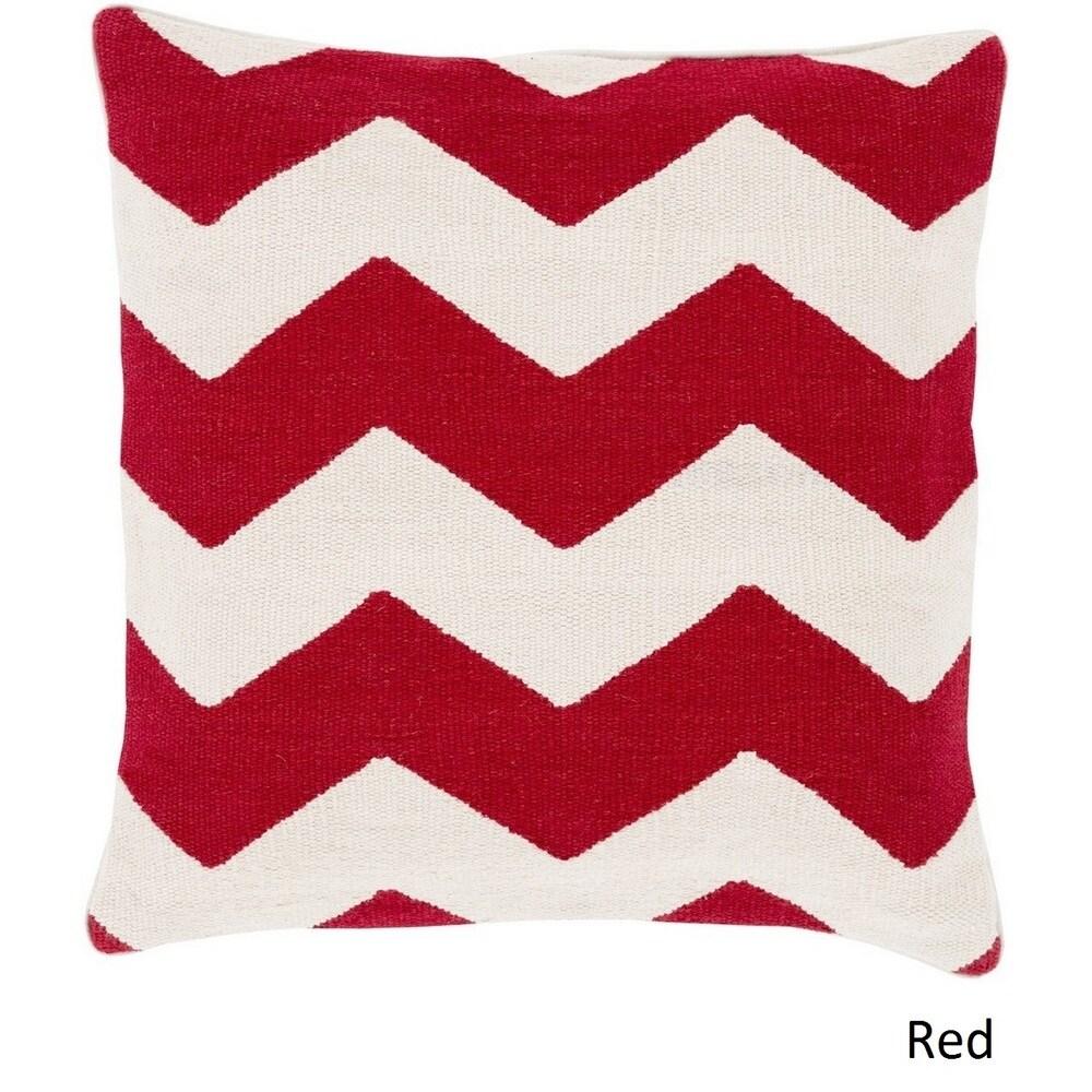 Shop Decorative Rochdale 18-inch Chevron Pillow Cover - 10708281