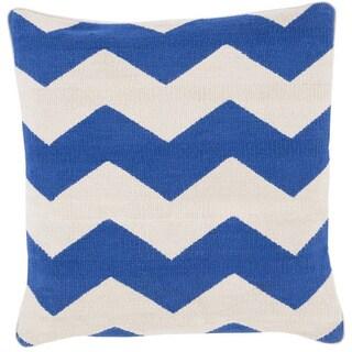 Decorative Rochdale 18-inch Chevron Pillow Cover