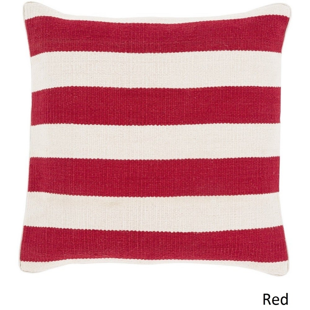 Shop Decorative Redditch 18-inch Stripe Pillow Cover - 10708282