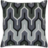 Decorative Peterlee 18-inch Geometric Pillow Cover