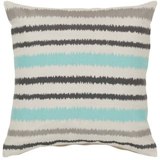 Decorative Pershore 18-inch Striped Ikat Pillow Cover