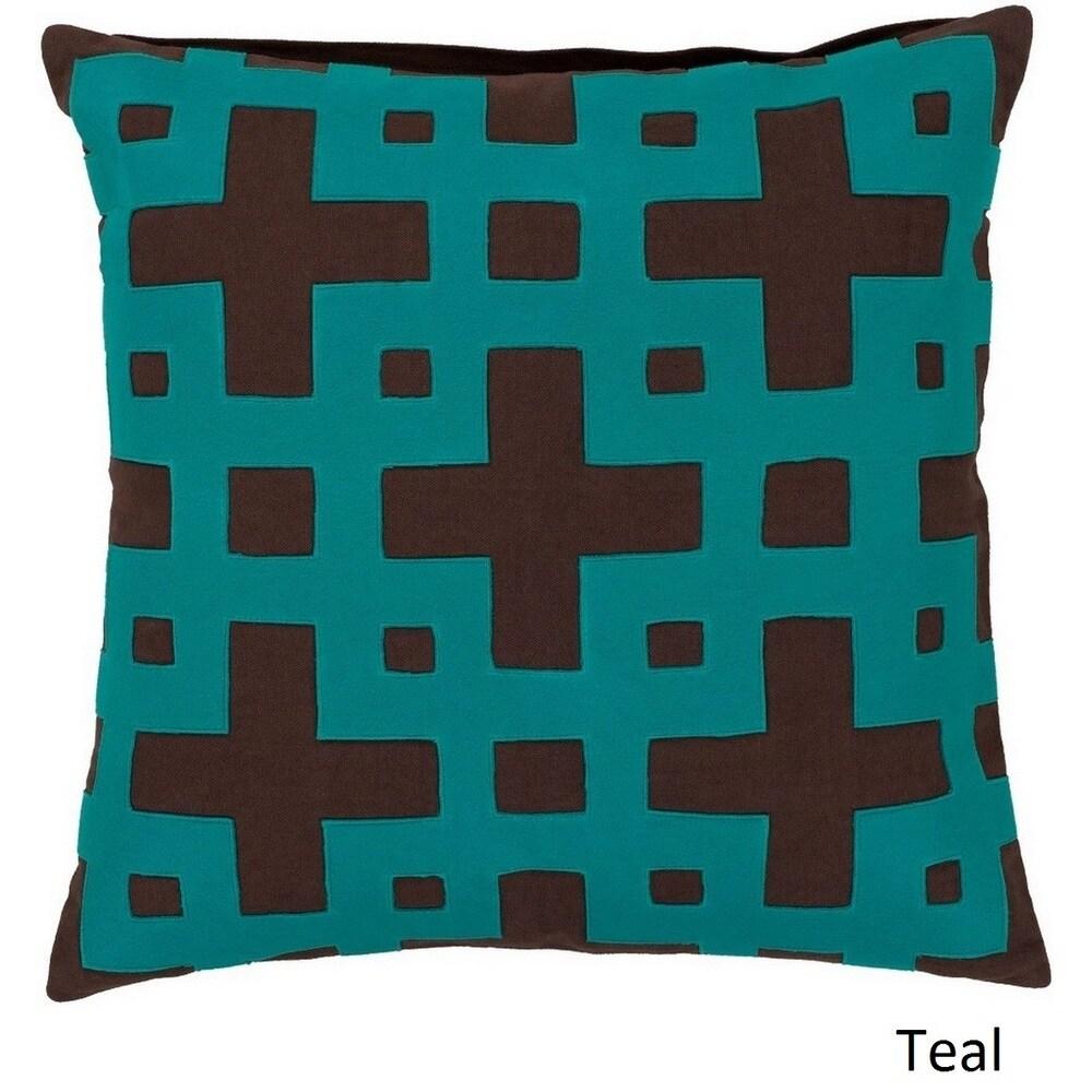 Shop Jones 18-inch Decorative Geometric Pillow Cover - 10708287