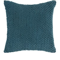 Decorative Solihull 22-inch Textured Pillow Cover
