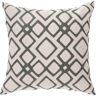Decorative Rothwell 22-inch Trellis Pillow Cover