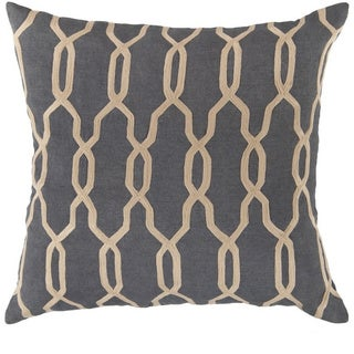 Decorative Rochford 22-inch Trellis Pillow Cover