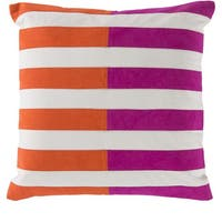 Decorative Petworth 22-inch Check Pillow Cover