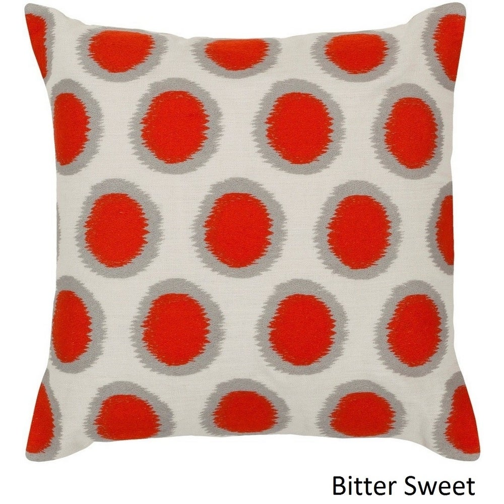 Shop Decorative Balin 22-inch Pillow Cover - Overstock - 10708301