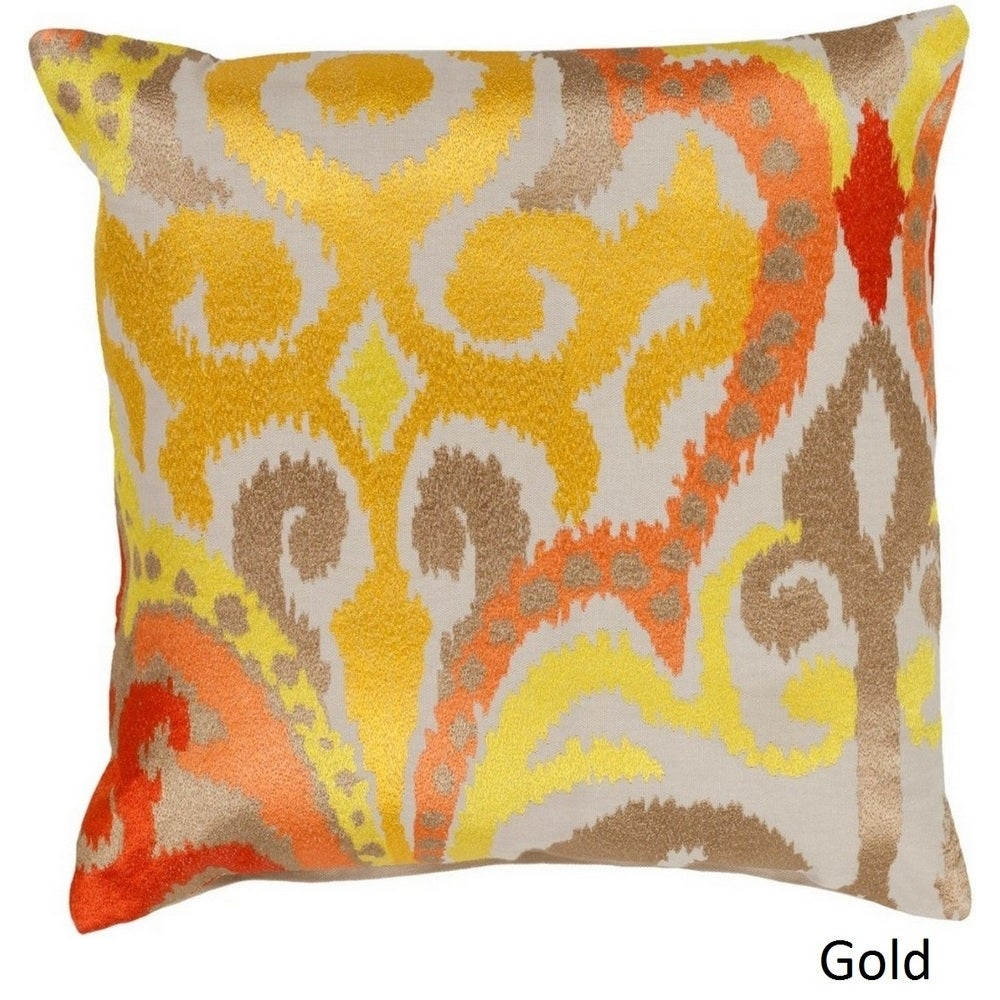Shop Decorative Penzance 22-inch Flourish Ikat Pillow Cover - 10708303