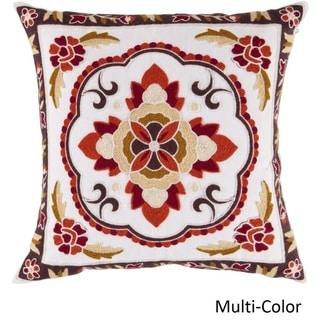 Decorative Sandbach 18-inch Flourish Pillow Cover