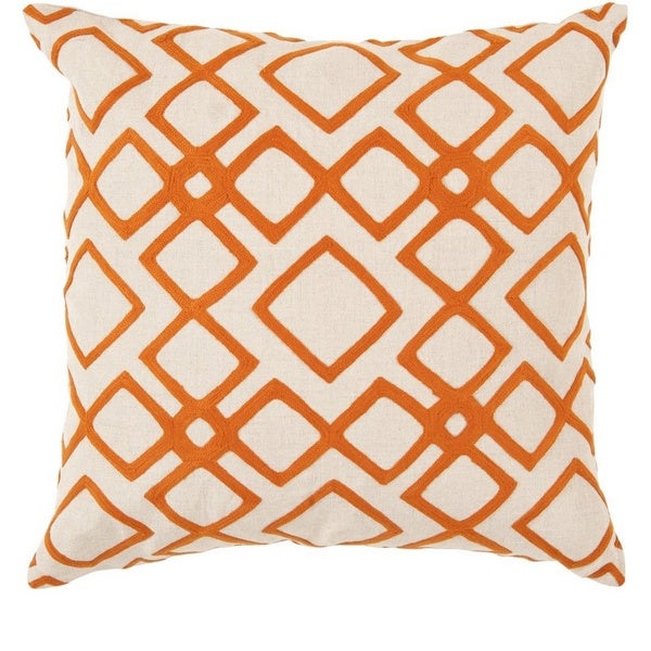 Decorative Rothwell 18-inch Trellis Pillow Cover. Opens flyout.