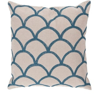 Decorative Rothbury 18-inch Embroidered Pillow Cover