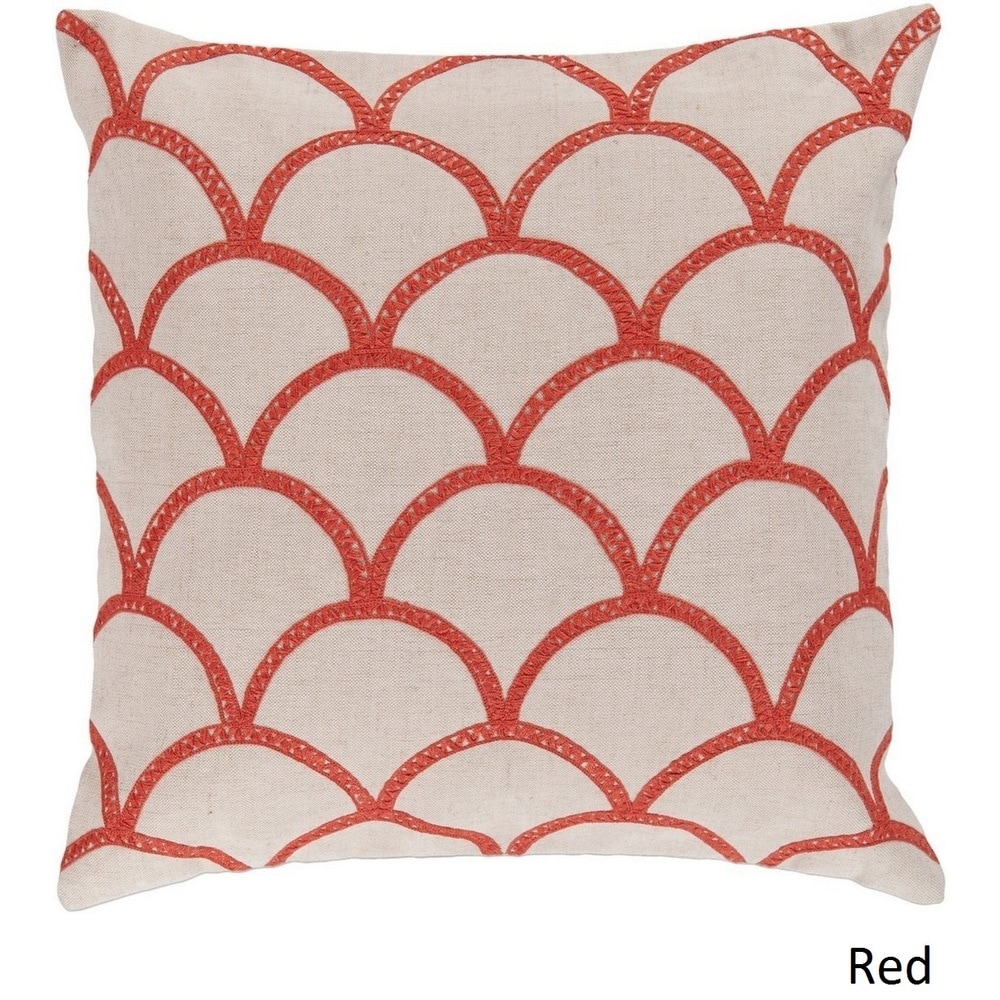 Shop Decorative Rothbury 18-inch Embroidered Pillow Cover - 10708318