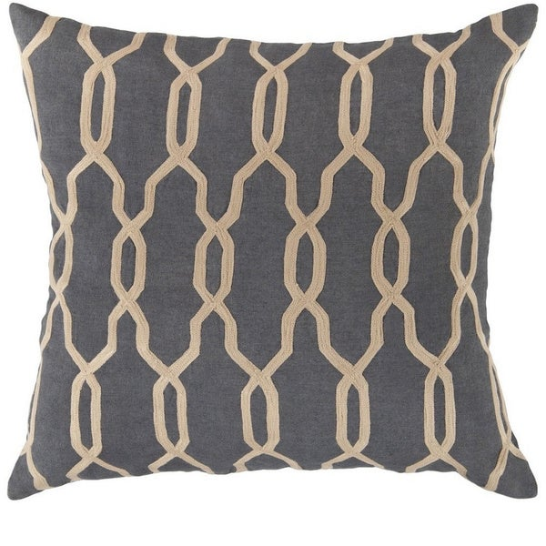Decorative Rochford 18-inch Trellis Pillow Cover