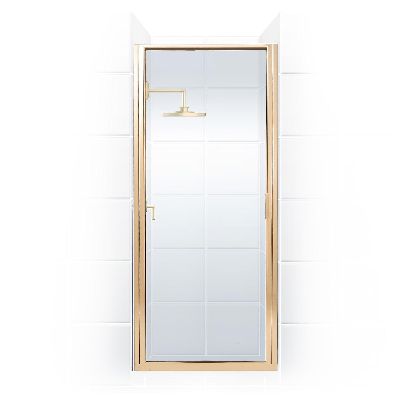 Paragon Series 34 In X 74 In Framed Continuous Hinge Shower Door Overstock 10708347