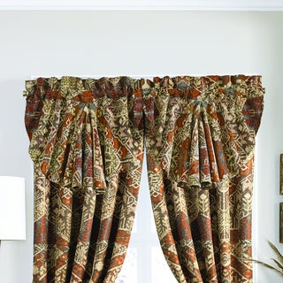 Croscill Salida Red and Green Window Valance