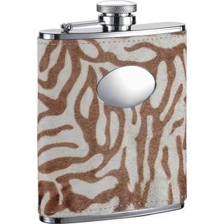 Visol Siberian Tiger II Liquor Flask - 6 ounces