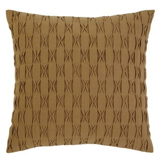 Signature Design by Ashley Patterned Gold Throw Pillow