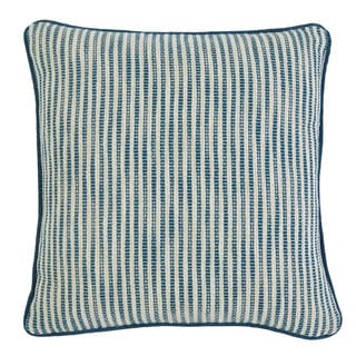Signature Design by Ashley Striped Turquoise Throw Pillow