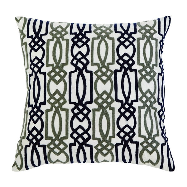 Shop Signature Design By Ashley Embroidered Navy Throw
