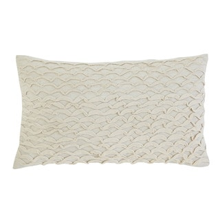 Signature Design by Ashley Stitched Beige Throw Pillow