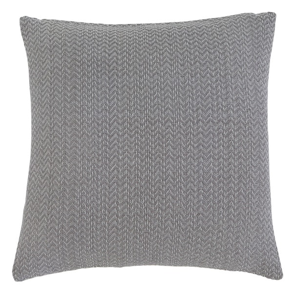 Shop Signature Design By Ashley Solid Gray Throw Pillow Free Cool Types Of Decorative Pillow Shapes