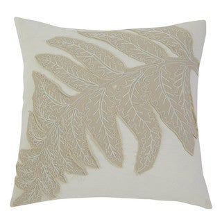Signature Design by Ashley Patterned Ivory Throw Pillow