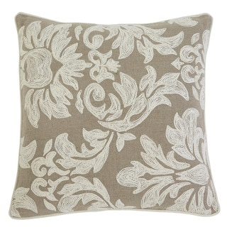Signature Design by Ashley Stitched White/Natural Pillow Cover