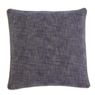 Signature Design by Ashley Textured Navy 22-inch Pillow Cover