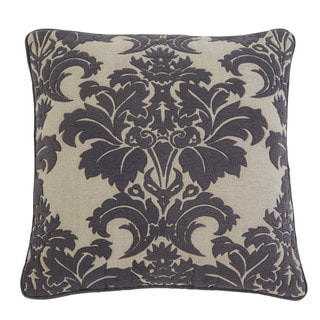 SB Signature Design by Ashley Damask Steel 18-inch Pillow Cover