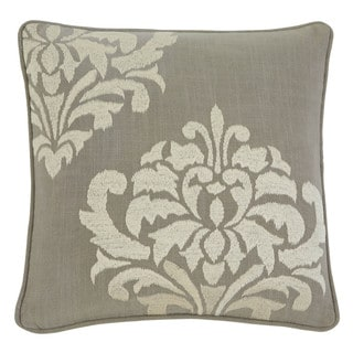 Signature Design by Ashley Damask Gray 18-inch Pillow Cover