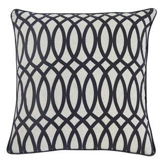 Signature Design by Ashley Gate Black 18-inch Pillow Cover