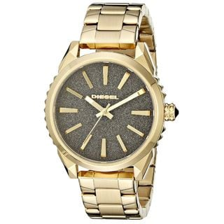 Diesel Women's DZ5474 'Nuki' Gold-Tone Stainless Steel Watch