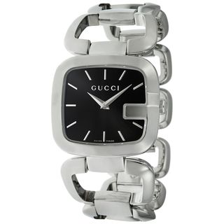 Gucci Women's YA125407 'G-Gucci' Stainless Steel Watch