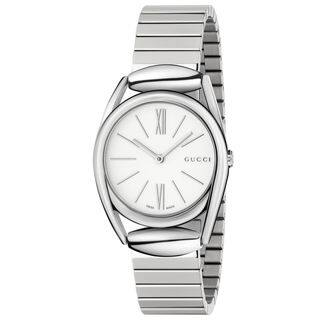 Gucci Women's YA140505 'Horsebit' Stainless Steel Watch|https://ak1.ostkcdn.com/images/products/10708621/P17767894.jpg?impolicy=medium