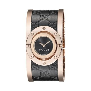 Gucci Women's YA112438 'Twirl' Two-Tone Stainless Steel Watch