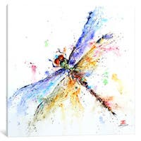 iCanvas Dragonfly by Dean Crouser Canvas Print