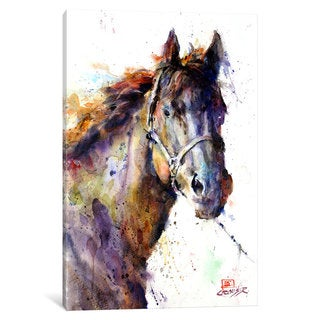 iCanvas Horse III by Dean Crouser Canvas Print