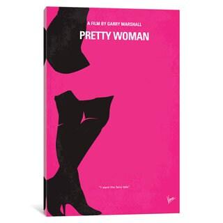 iCanvas Pretty Woman Minimal Movie Poster by Chungkong Canvas Print