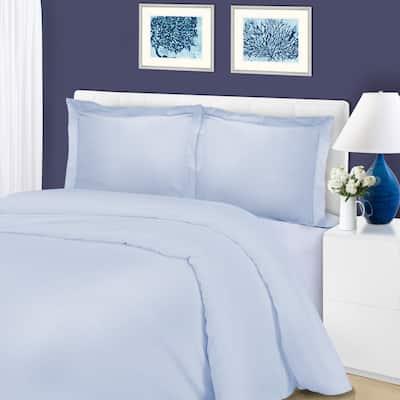 Superior 1200 Thread Count Wrinkle Resistant Cotton Blend Duvet Cover Set