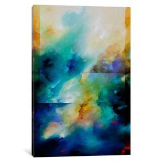 iCanvas Aqua Breeze by CH Studios Canvas Print