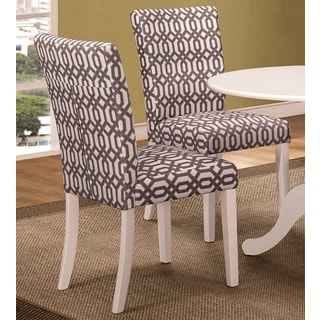 Jolie Magazine Inspired Parson Design Chairs (Set of 2)