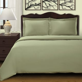 Link to Superior 300 Thread Count Combed Cotton Sateen Duvet Cover Set Similar Items in Duvet Covers & Sets