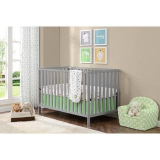 Altra Charlotte Soft Grey Crib by Cosco